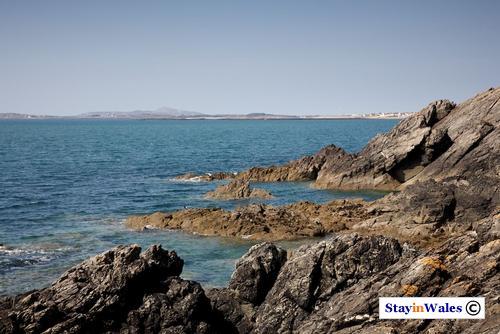 Headland at Porth Trecastell, Anglesey