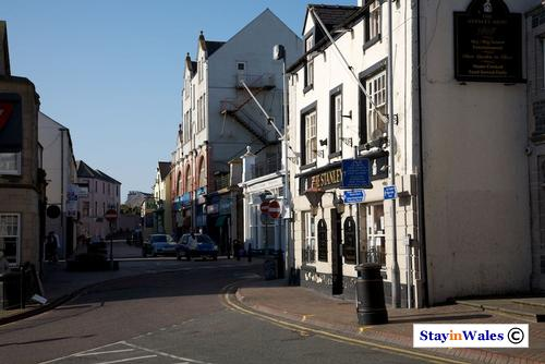 Stanley Street, Holyhead town centre