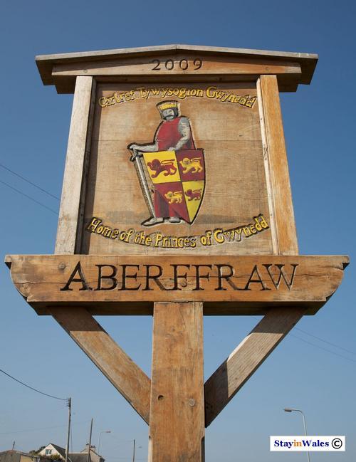 Aberffraw, home to the Princes of Gwynedd