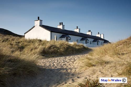 Pilot Cottages on Llanddwyn Island