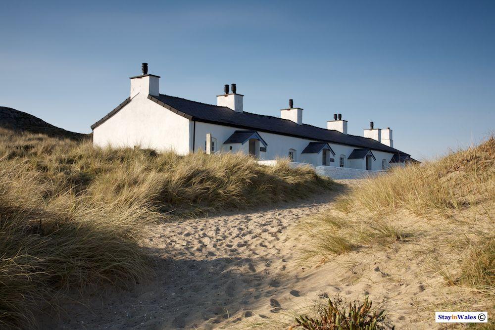 Pilot Cottages on Llanddwyn Island