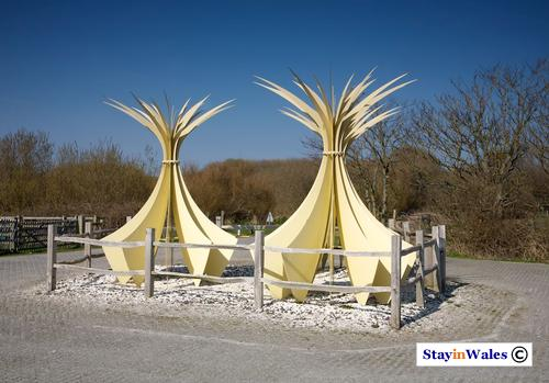 Marram Sculpture, Newborough, Anglesey