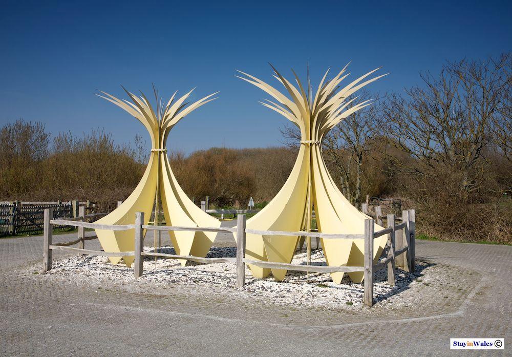 Marram Sculpture, Newborough, Anglesey
