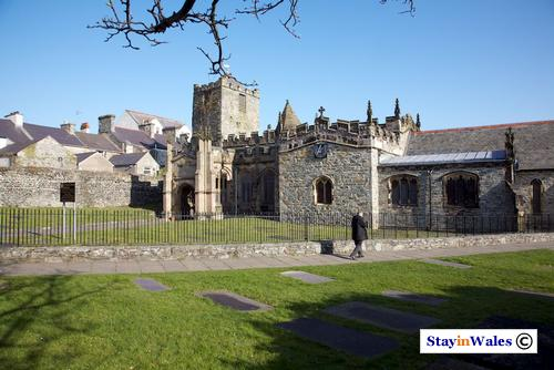 St Cybi's Church in Holyhead, Anglesey