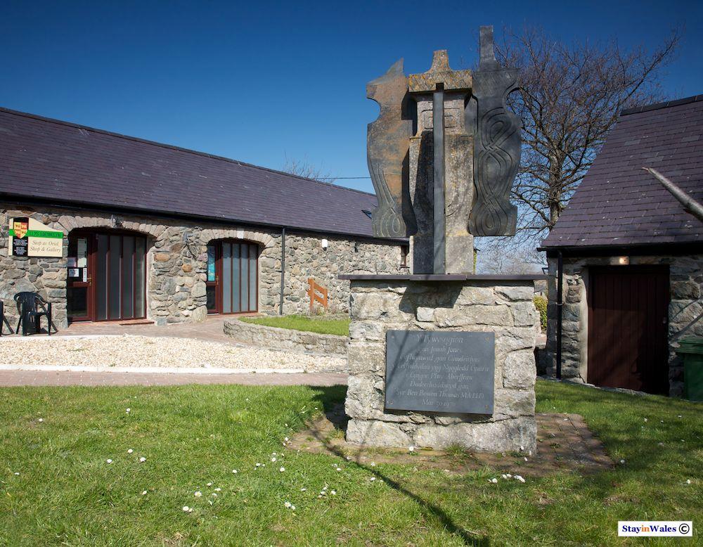 Y Tywysogion Sculpture, Aberffraw