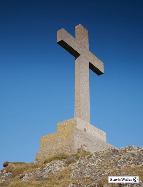 St Dwynwen's Cross, Llanddwyn