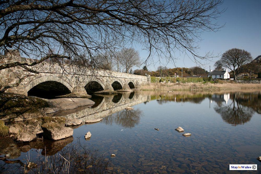 Pen Llyn Bridge at Cwm-y-Glo