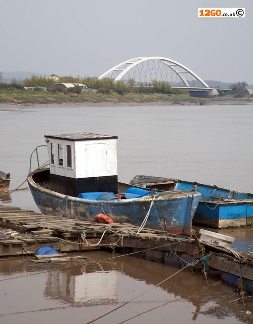 River Usk and City Bridge, Newport