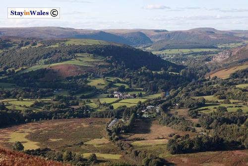 Trembyd view of Doldowlod and Llanwrthyl