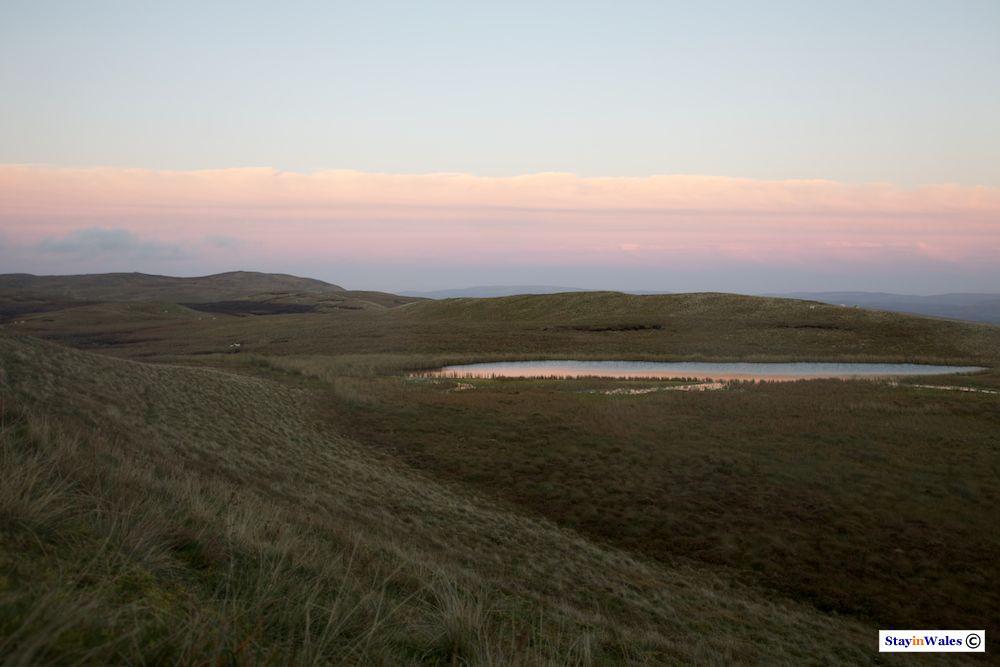 Llyn y Ferlen mountain lake