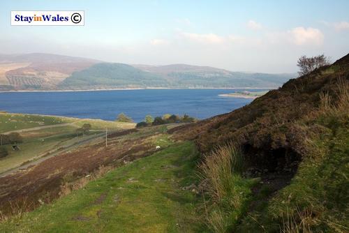View of Llyn Celyn from Pant-yr-Hedydd