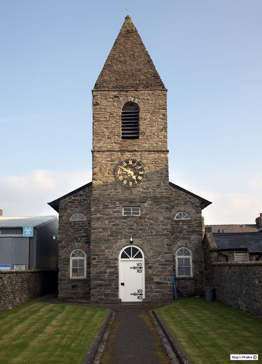 English Chapel in Bala, North Wales