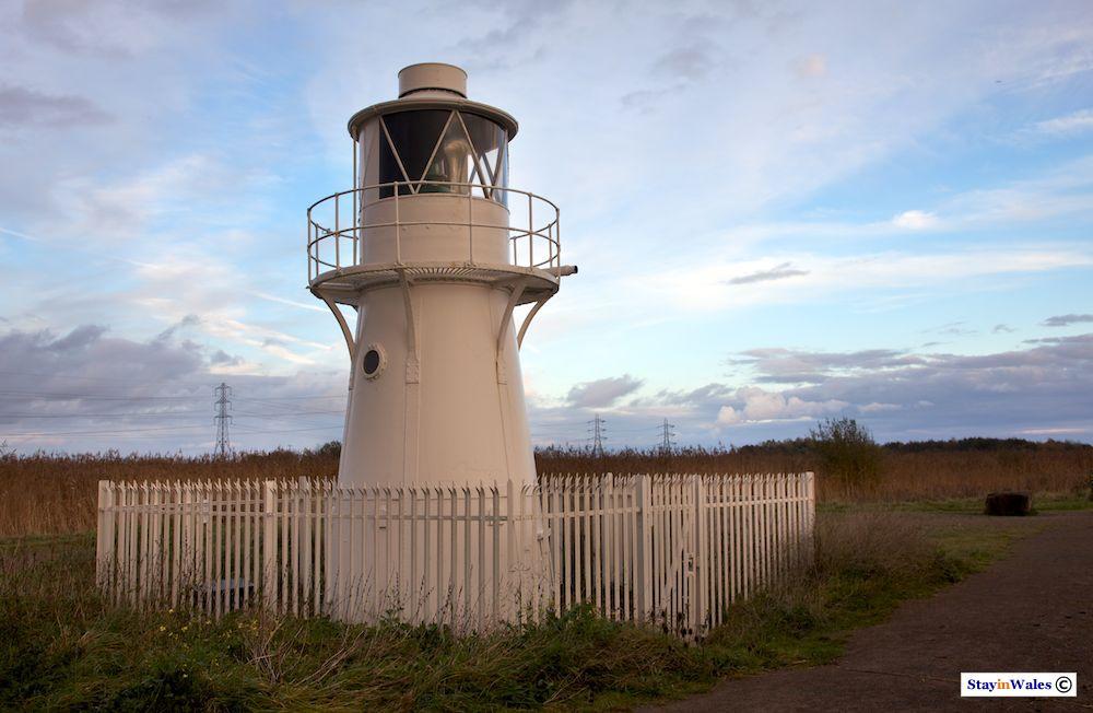 East Usk Lighthouse, Newport