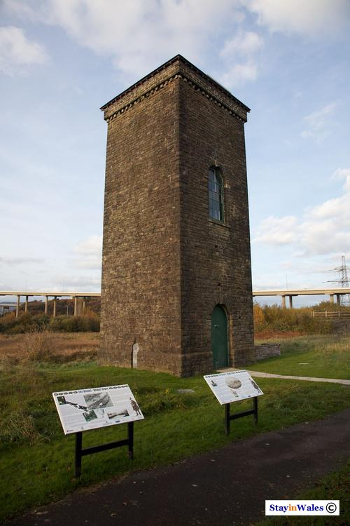 Brunel Tower, Briton Ferry Dock