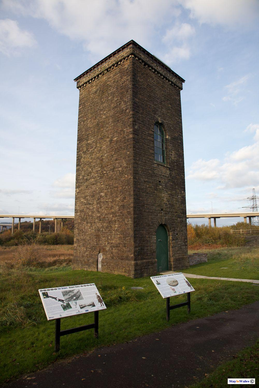 Brunel Tower, Briton Ferry Dock