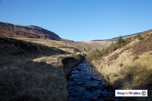 Rier Rhondda at Blaenrhondda