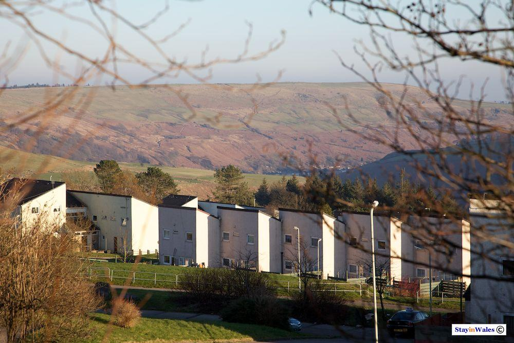 Penrhys village, Rhondda