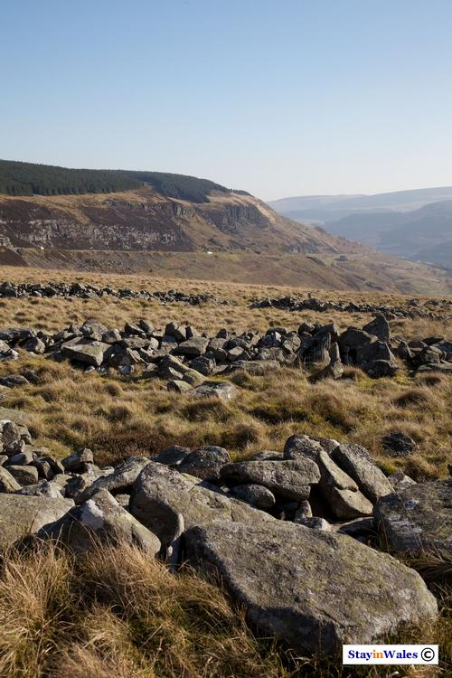 Iron age settlement in the Rhondda