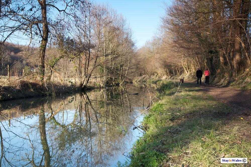 Neath Canal near Glyn Neath