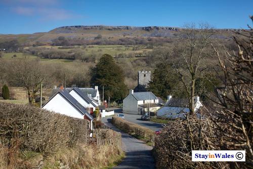 Ystradfellte village