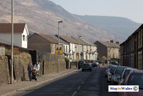 Ynyswen, a Rhondda village