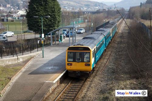 Rhondda branch train