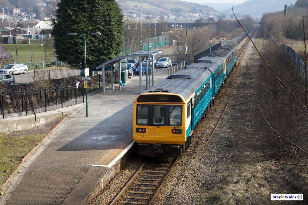 Rhondda branch train