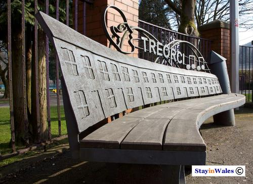 Treorci bench