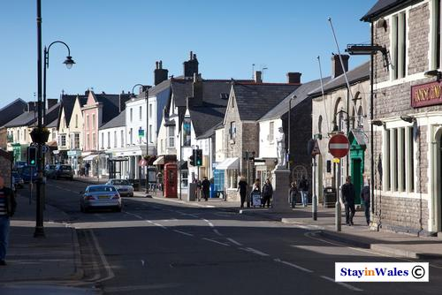 Cowbridge town centre