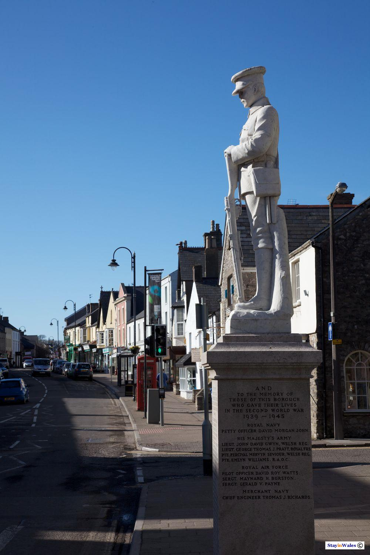 War memorial, Cowbridge