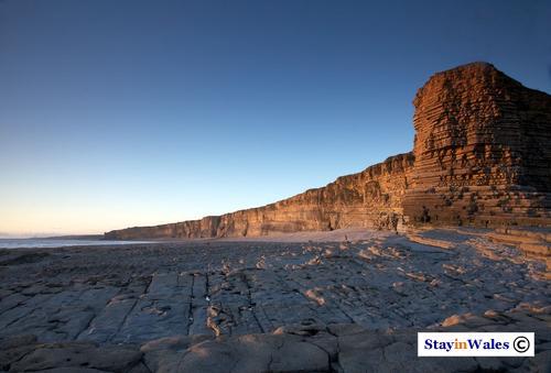 Nash Point cliffs