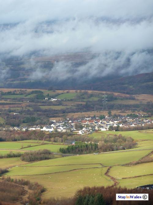 Rhiogs village