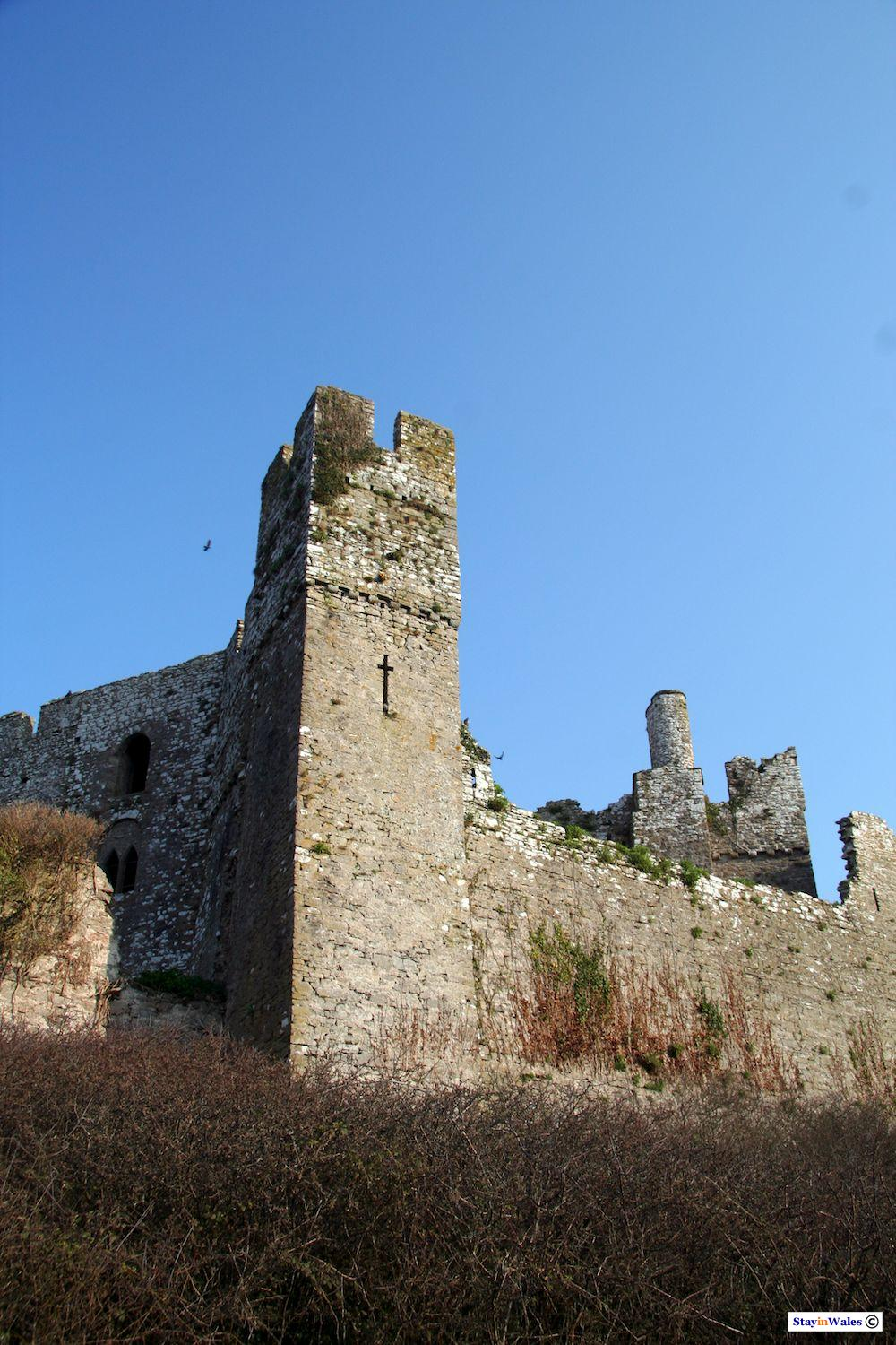 Manorbier Castle Tower