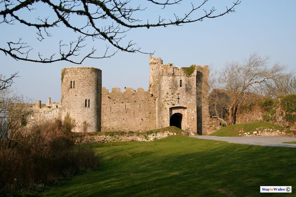 Gatehouse at Manorbier Castle