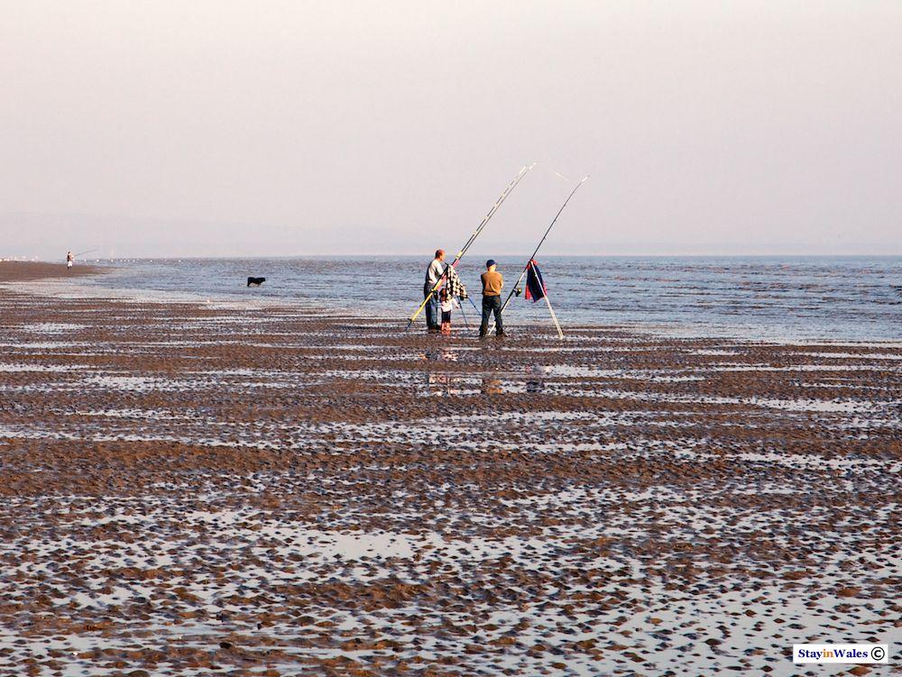Sea fishing Pendine
