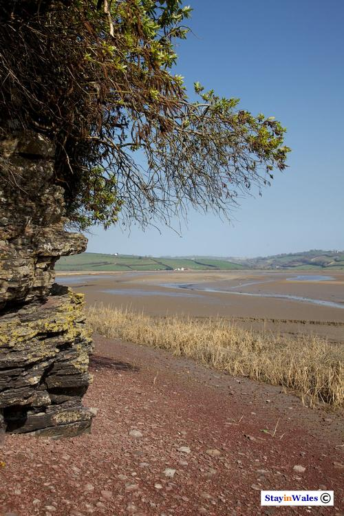 River Taf at Laugharne