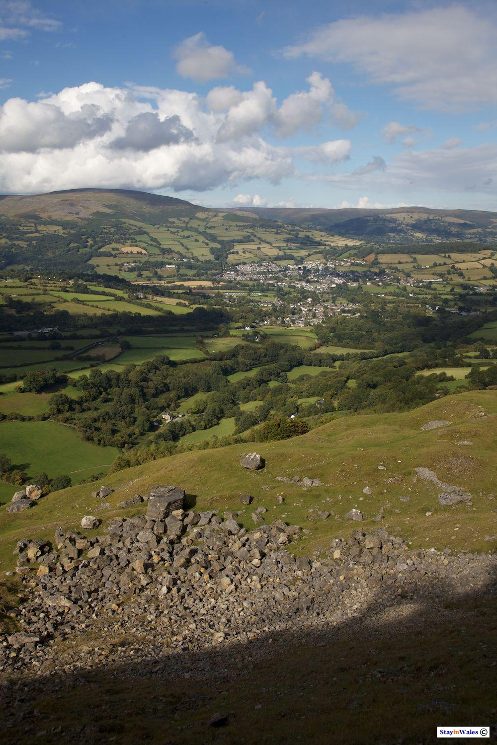Crickhowell and Table Mountain