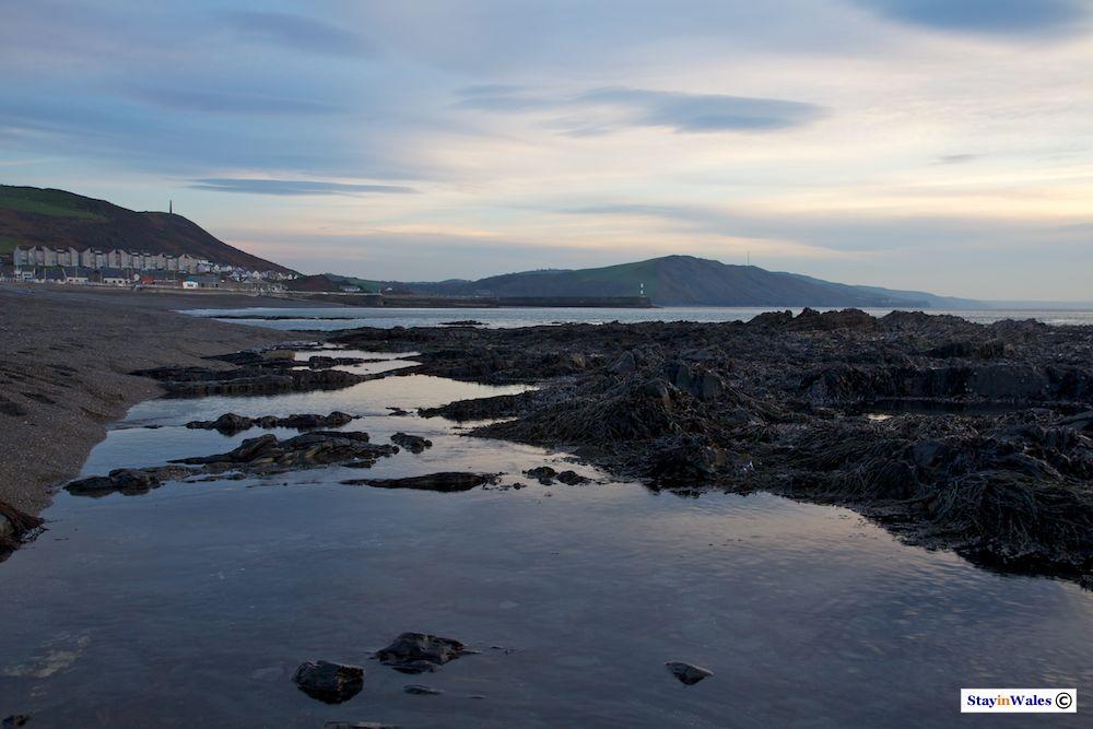 Ceredigion coast, Aberystwyth