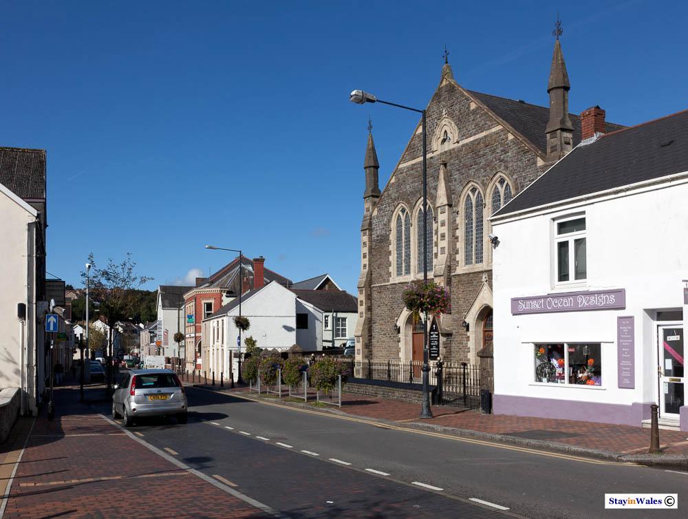 Pontarddulais Town Centre