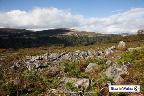 Varteg seen from Mynydd Garnclochdy