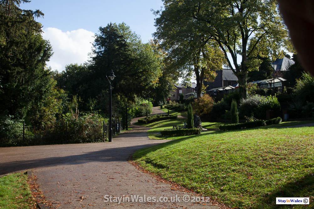 Italian Garden, Pontypool Park
