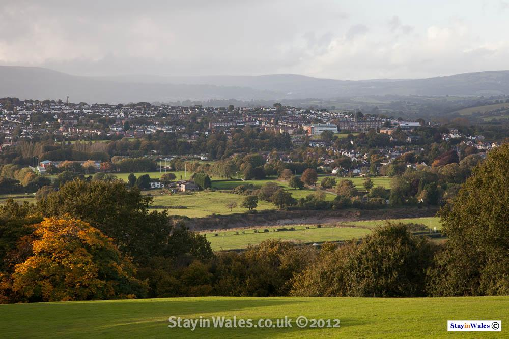 View over Caerleon
