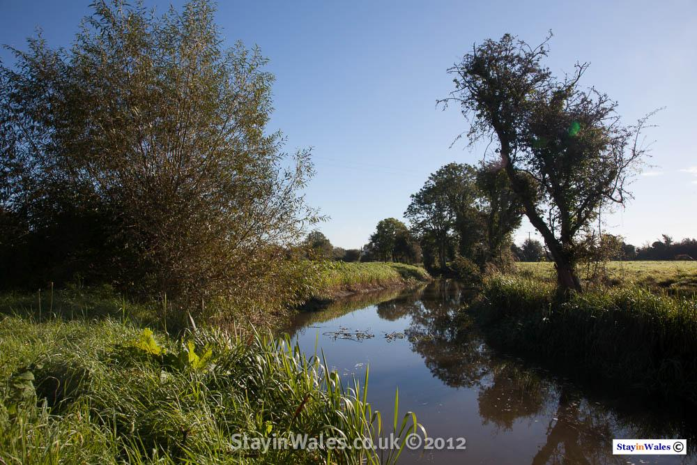 Drainage channel near Goldcliff