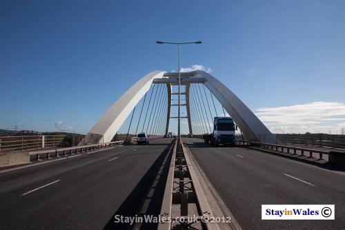 Usk Way, A48, Newport