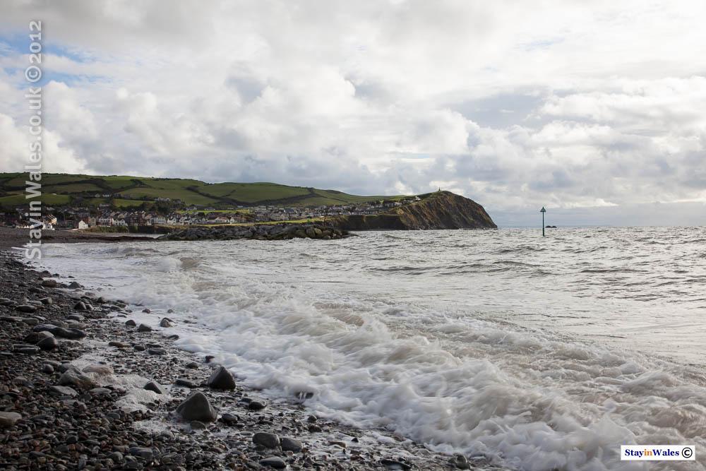Cambrian coast at Borth