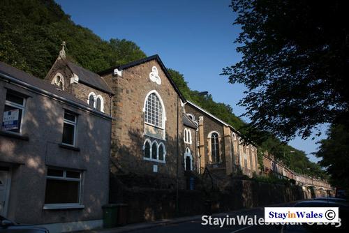 English Baptist Church at Cwmcarn