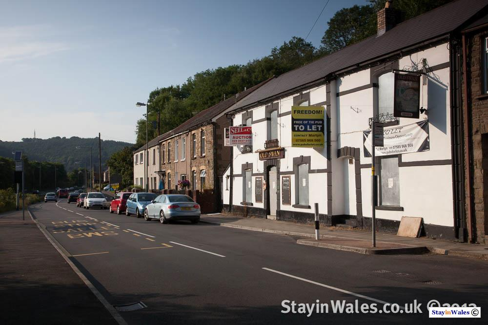 Old Swan at Cwmcarn