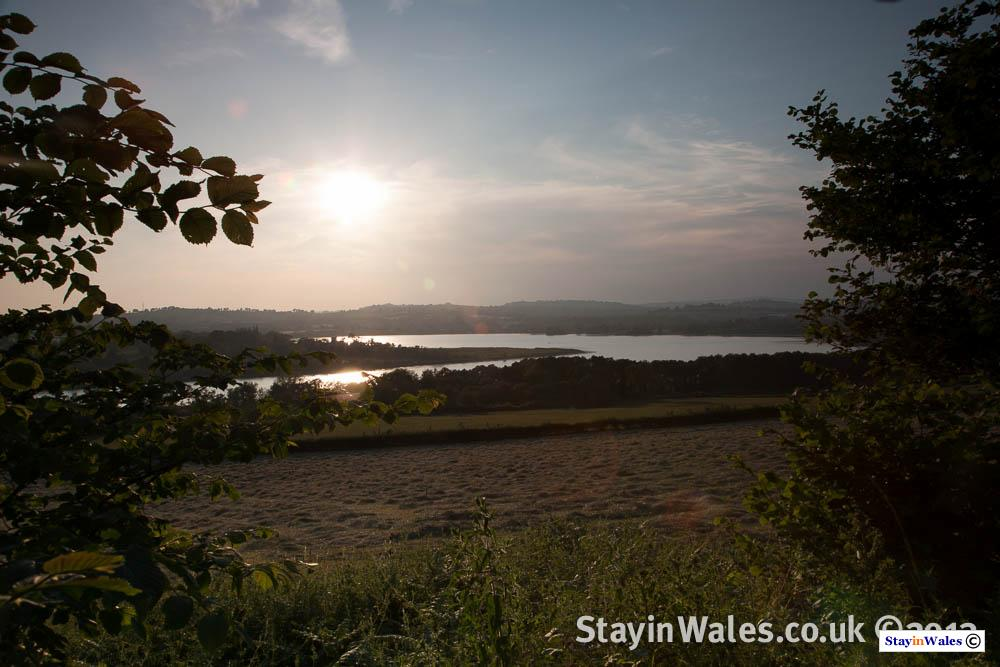 Llangorse Lake sunset