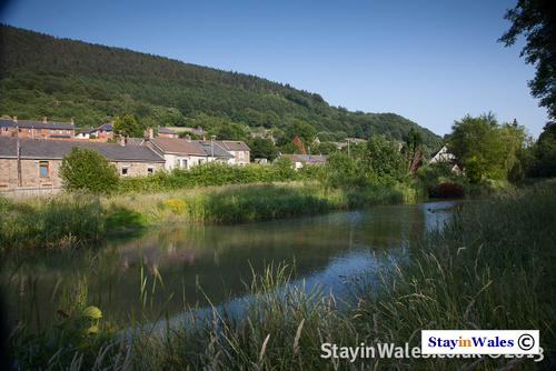 Monmouthshire Canal at Pontywaun