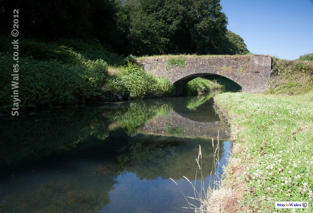 Tennant Canal bridge near Cadoxton